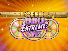 Игровой автомат Wheel Of Fortune: Triple Extreme Spin от IGT